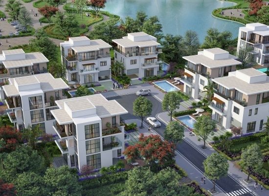 Biệt thự nghỉ dưỡng dự án đất nền sầm sơn Văn Phú